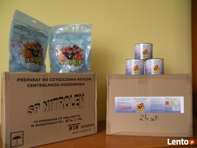 SP NITROLEN - preparat do czyszczenia kotłów C.O. i