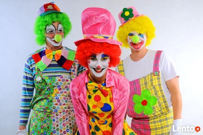 Klaunada- klaun na urodziny, klaun do wynajęcia