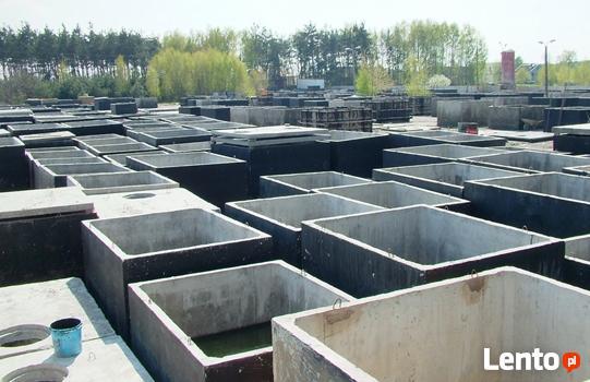 szamba betonowe z atestami i 2-letnią gwarancją, transportem