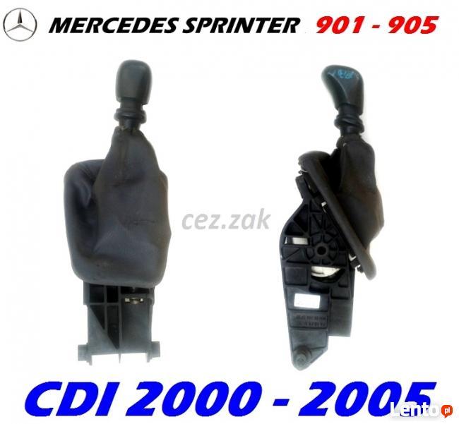 lewarek dźwignia zmiany biegów Mercedes Sprinter CDI 00-05