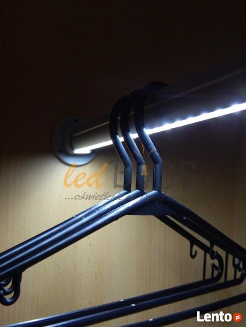 Drążek LED podświetlenie szafy 40-120cm NA WYMIAR LedBOSS
