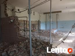 Wyburzenia ścian,skówanie glazury,demontaże,rozbiórki