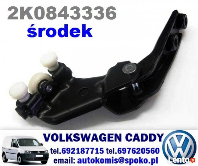 środkowy wózek rolki drzwi przesuwnych zawias VW CADDY 04-