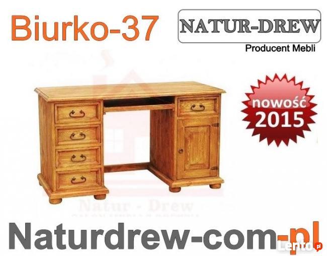 Biurko 37 z Drewna,Drewniane,meble z Drewna Warszawa,Produce