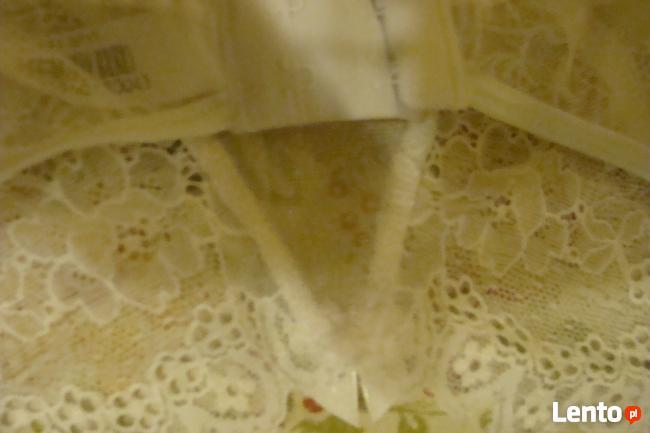 Seksowny pas do pończoch LISA XL biel