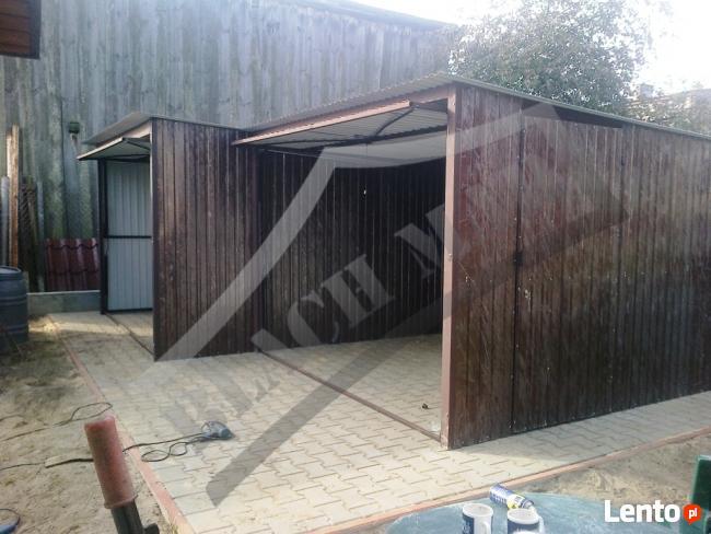 Garaż Blaszany 6x6