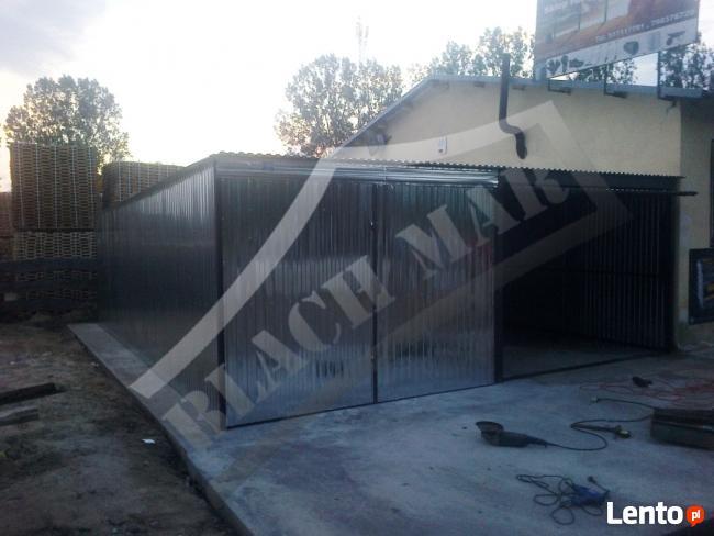Garaż blaszany garaże blaszane 6x6 WZMOCNIONY PRODUCENT