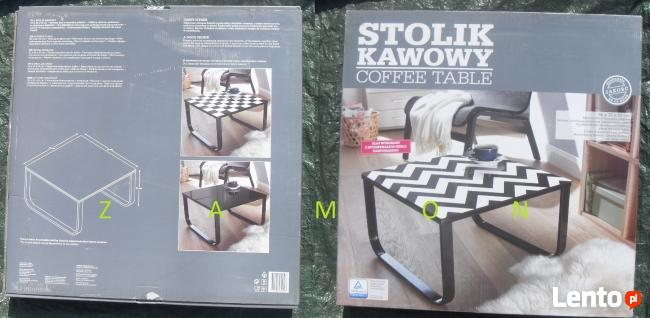 Stolik kawowy 55x32x55 cm - Nowy