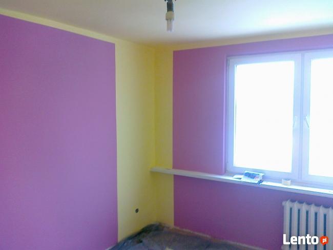 malowanie ścian gładź tapetowanie tel 504 613 582