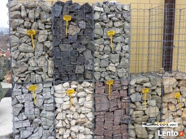 Wspaniały Archiwalne Kamień łupek Granitowy Granit Gabiony kostka płot SA84