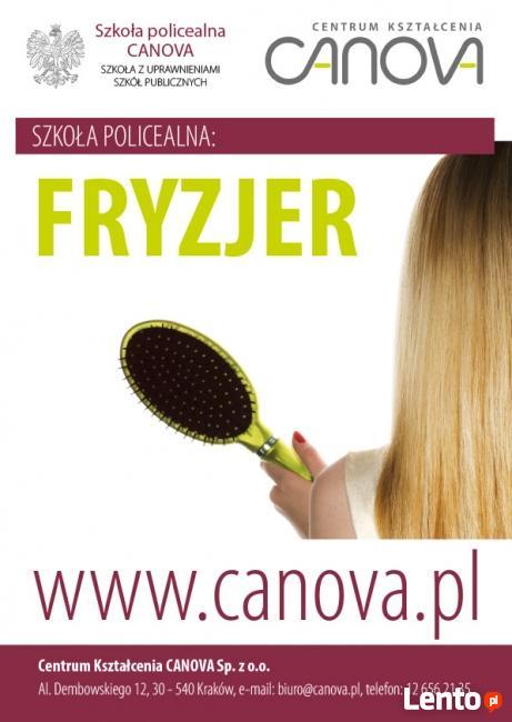 Szkoła CANOVA technik usług fryzjerskich
