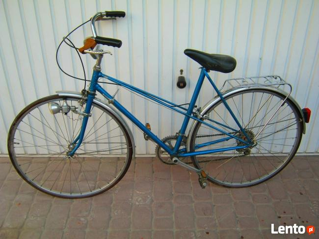 Rower (z markowych czesci)