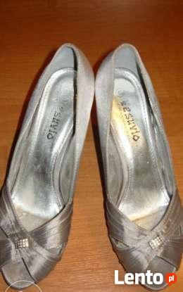 Buty srebne rozmiar 40