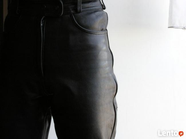 Spodnie skórzane ARIZONA na motor DAMSKIE/MESKIE