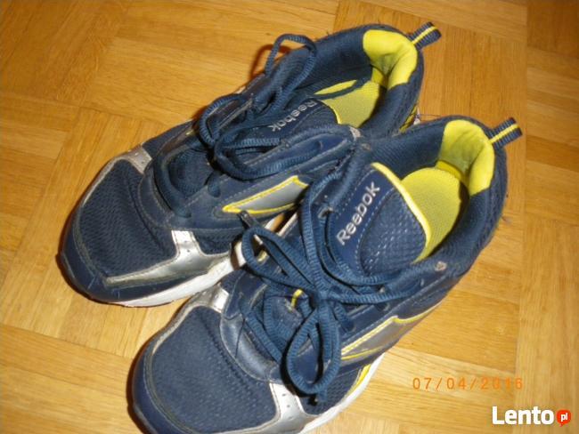 Adidasy sznurowane firmy Reebok rozm.33, cm.21.5