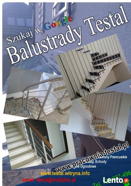 balustrada nierdzewna robimy na wymiar wysyłka w 5 dni