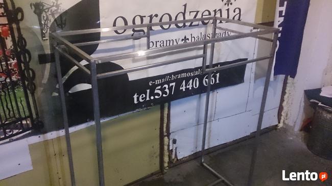 Gondole regały stoły sklep krzesla Nierdzewka stal
