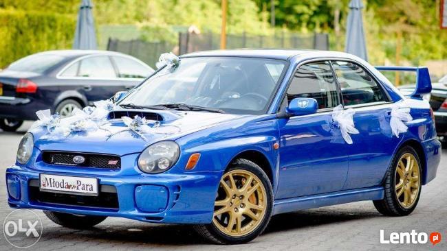 Subaru Do Ślubu! Impreza WRX STI! Rajdowy ślub!