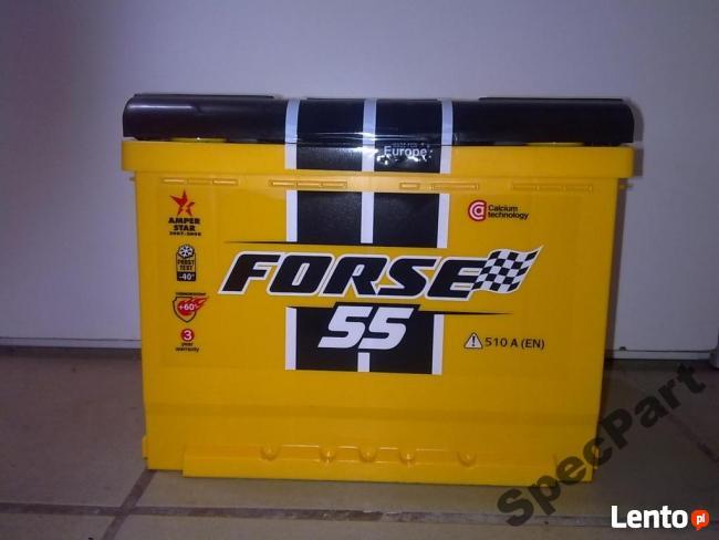 Akumulator FORSE 55Ah/510A