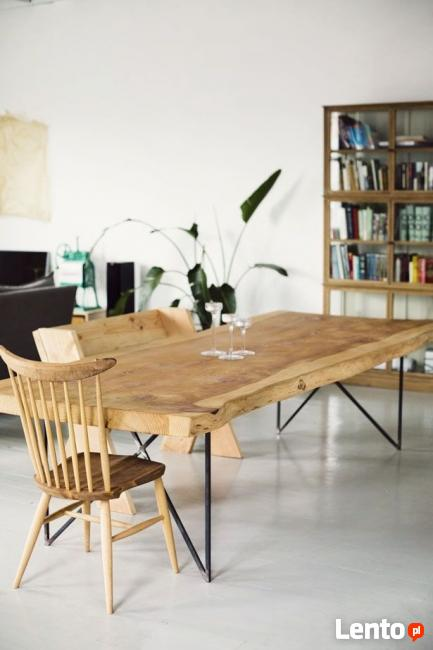 St y awy loft inustrial hand made pepitowood skandynawskie - Fabriquer sa table de salle a manger ...
