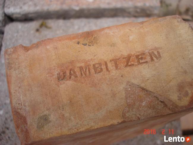 Płytki ciete z cegły poniemieckiej