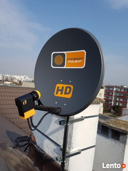 Serwis ustawienia Anten Satelitarnych Nc+ Cyfrowy Polsat