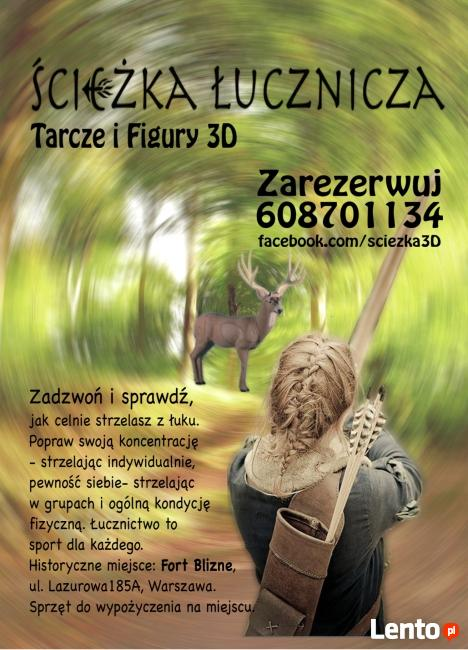 Ścieżka Łucznicza 3D w Forcie Blizne