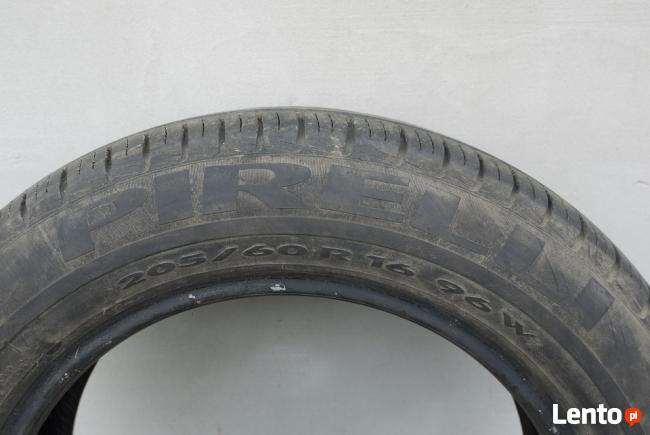 Opony Letnie 205/60/16 96W Pirelli P7 2009r. 5mm
