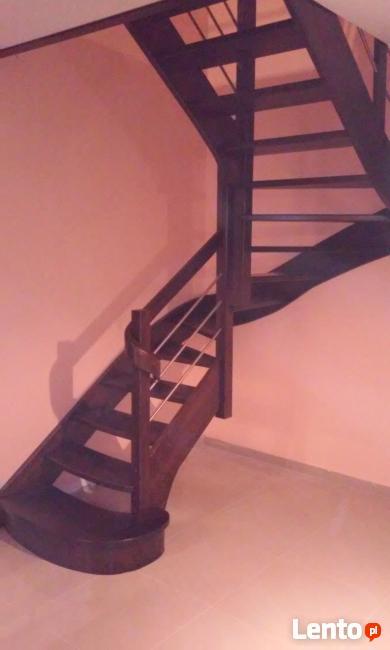 schody drewniane , stolarstwo