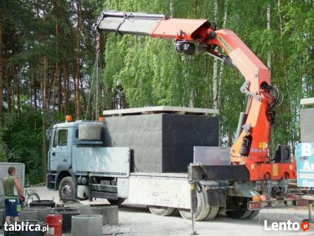 Nowe szamba betonowe z montazem, gwarancja, transportem