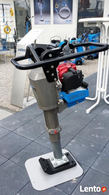 NOWOŚĆ stopa zagęszczająca WEBER - 32 kg szer. stopy 140 mm