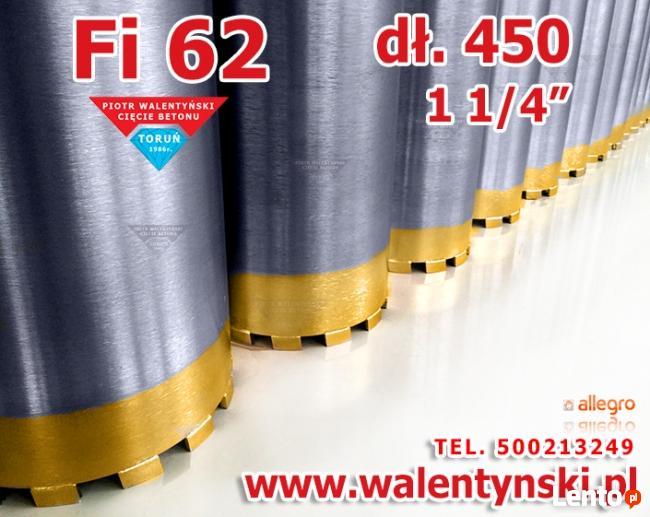 Wiertła Diamentowe, wiertło koronowe, wiertło Fi 60 62 mm