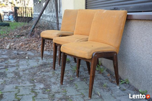 Pół fotel AGA , Fotel AGA, Meble PRL, Krzesła PRL, Fotel