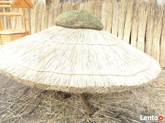 PARASOL przeciwsłoneczny zacieniacz z trzciny dach