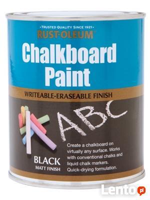 Farba kredowa tablicowa – ChalkBoard Rust Oleum