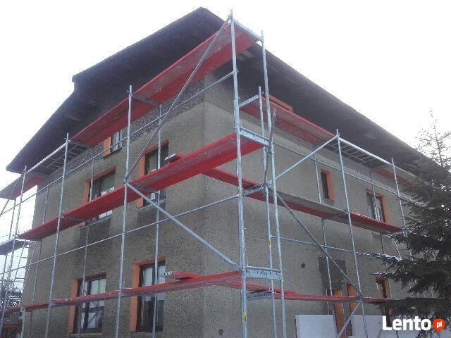 Rusztowanie Plettac 136 m2 WYSOKOŚĆ ROBOCZA 6,5m