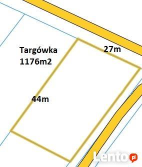 Działka Targówka, 1176m2, 27 x 44m, media, OKAZJA!