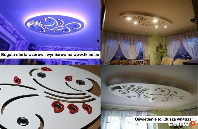 Lampa wisząca sufitowa sufit podwieszany plafon LED żyrandol