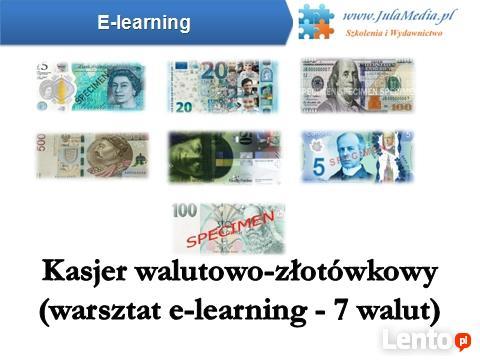 Kurs – Kasjer walutowo-złotówkowy – 7 walut