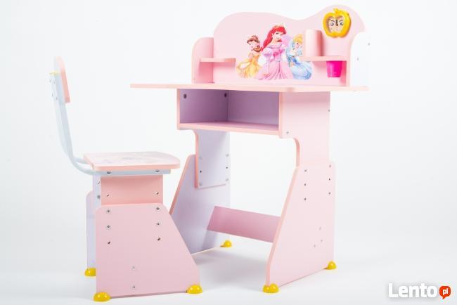 biurko dziecięce ZESTAW BIURKO+KRZESŁO STOLIK KRZESEŁKO NEW