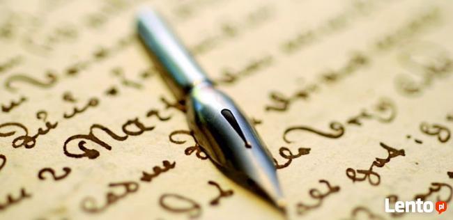 Grafolog, analiza pisma, podpisów, ekspertyzy dokumentów