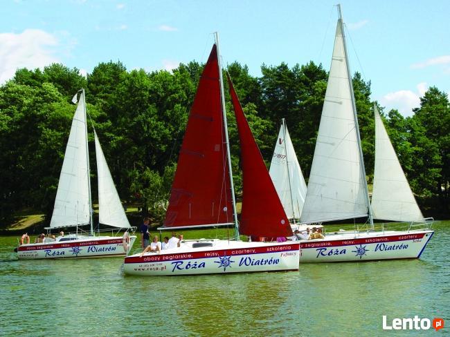 żeglarzy jachtowych, sterników jachtowych, instruktorów żegl