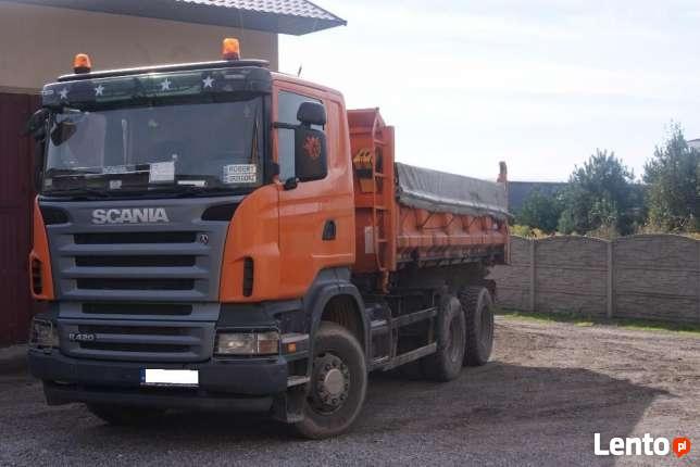 Usługi Koparko-Ładowarką / Usługi transportowe