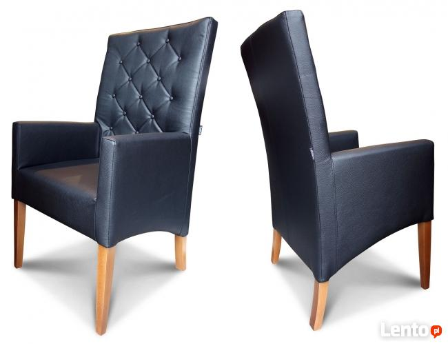 Krzesła, fotele tapicerowane do domu do restauracji.