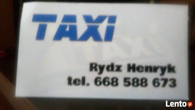 TAXI Henryk Rydz