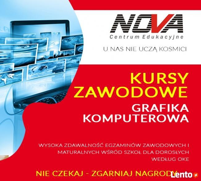 KURS - GRAFIKA KOMPUTEROWA - Gliwice - promocja 499 zł !!