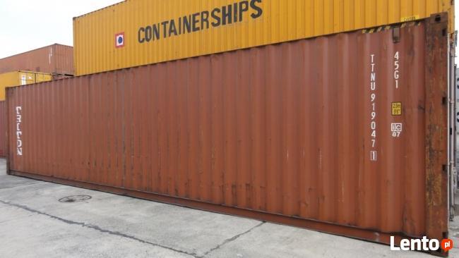Kontener morski 12 m 40HC sprawny 100 % szczelny wynajem