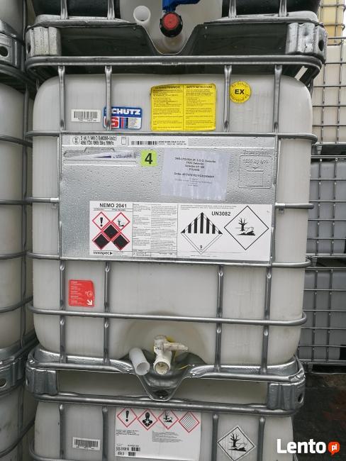 W Mega Paletopojemniki zbiorniki 1000l pojemniki beczka mauzery RSM Będzelin QJ29