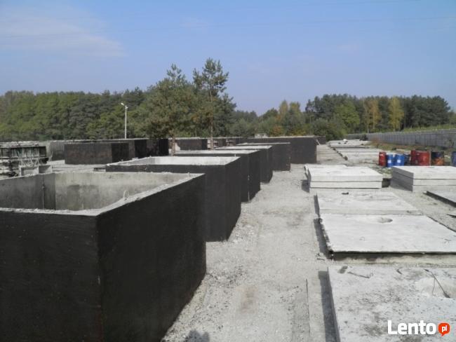 Szambo szamba betonowe zbiornik zbiorniki na ścieki 4-12m3