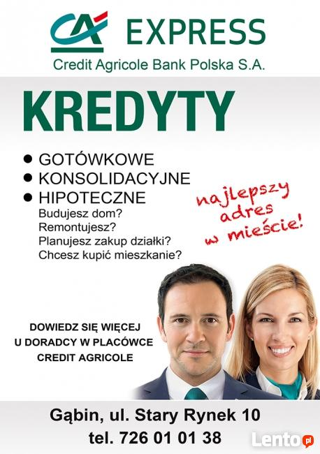 Credit Agricole W Gąbinie!